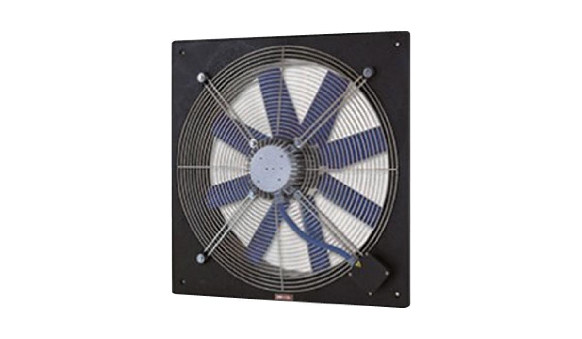 Ventilatore elicoidale a pannello con motore compatto - Ventilatore da parete ...